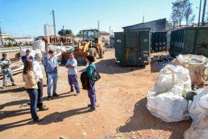 Associação de catadores de recicláveis tem apoio da prefeitura