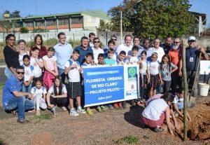 Rio Claro implanta projeto piloto de floresta urbana