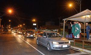 Carreata de São Cristóvão em Rio Claro  bate recorde com mais de 2.000 veículos