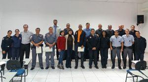 Equipe de Defesa Civil de RC conclui curso de capacitação