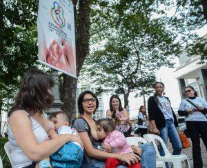Semana de aleitamento materno prossegue nesta 4ª-feira em RC