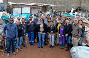 Prefeitura reafirma apoio a Associação Novo Tempo e entrega cestas básicas