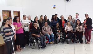 RC está em comissão que vai orientar conselhos paulistas de pessoas com deficiência