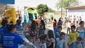 Programa 'Jogando Limpo' coleta cerca de 120 quilos de recicláveis no Bonsucesso
