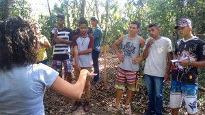 Visitas guiadas à nascente modelo do Daae prosseguem em Rio Claro