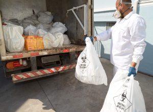 Coleta de lixo hospitalar  é retomada em Rio Claro