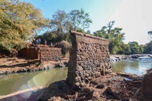 Rio Claro e Ipeúna fazem reforma da ponte do Farol