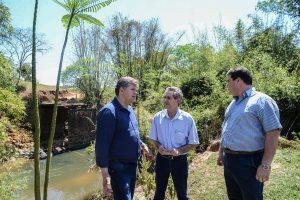 Rio Claro e Ipeúna trabalham juntos para recuperar pontes