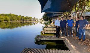 Juninho quer reativar os pedalinhos do Lago Azul