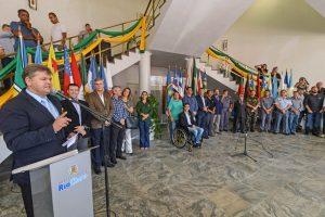 Ato cívico comemora a Independência