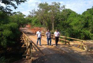 Rio Claro e Ipeúna concluem reforma da ponte do Farol