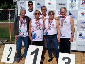 Equipe de natação máster representa Rio Claro nos Jogos Abertos dos Idosos em Sertãozinho