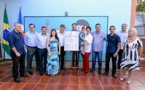 Pais aprovam as novas instalações da Escola Marina Cyrino