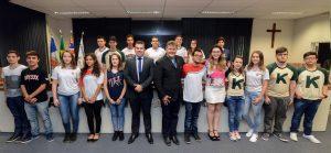 Juninho destaca importância do Parlamento Jovem