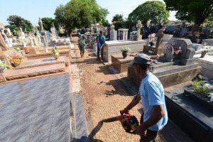 Cemitério São João Batista terá  horário especial no Dia de Finados