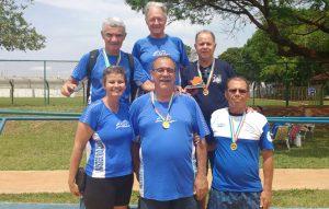 Natação máster de Rio Claro conquista primeiro lugar nos Jogos Abertos dos Idosos
