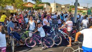 Escola Elpídio Mina realiza passeio ciclístico no domingo