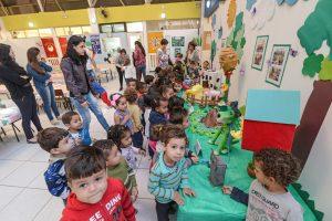"""Exposição """"Projeto Animais"""" fica na escola Sebastião Ambrósio até 5ª-feira"""