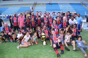 Paulistão comemora bicampeonato do Campeonato Municipal Veteranos 38