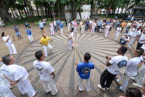 Ato cívico no Jardim Público comemorou Dia da Consciência Negra em Rio Claro