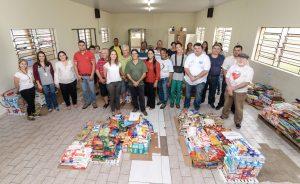 Fundo Social de Rio Claro entrega 7 toneladas de alimentos a entidades
