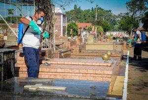 Cemitério Municipal passará por dedetização na próxima semana