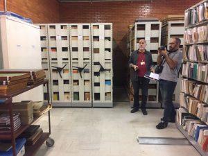 Técnicos do Arquivo de São Paulo visitam arquivo municipal