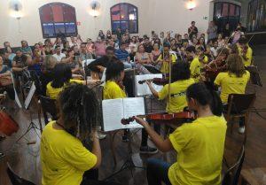 Pequenos solistas se apresentam na sexta-feira no Casarão