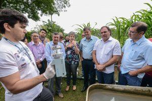 Instituto Adolfo Lutz inicia pesquisas na Horta Municipal