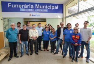 Funerária Municipal passa a funcionar no Bairro do Estádio