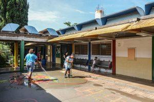 Escola municipal no Jardim Brasília é alvo de vandalismo