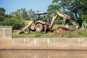 Daae conserta rede e normaliza fornecimento de água na região da ETA 2