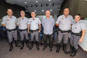 Policiais rodoviários são  homenageados em Rio Claro