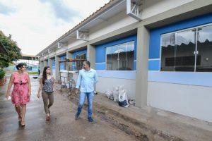 Prefeitura conclui obras de reforma  em prédio da Escola Marrote