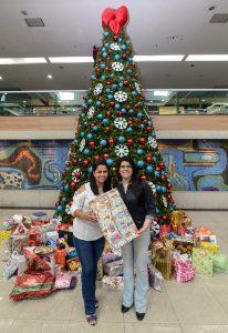 Fundo Social e shopping presenteiam 250 crianças