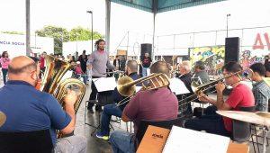 Concertos do Advento têm Banda dos Ferroviários no Jardim das Nações