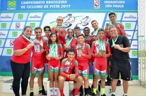 Abec RC/Setur traz 12 medalhas do Brasileiro de Juniores no ciclismo de pista