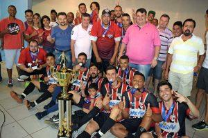 São Paulinho comemora título da Copa Futsal CSU