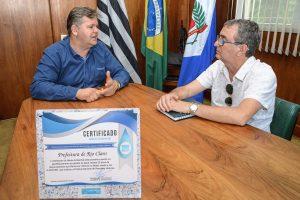 Rio Claro recebe certificado de Mérito Ambiental