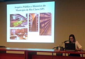 Arquivo Público de Rio Claro participa de encontro em São Paulo