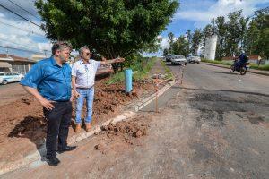 Daae resolve problema de falta d'água no bairro Santa Maria