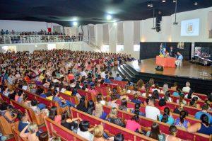 Aula inaugural da rede municipal de ensino acontece nesta quinta-feira