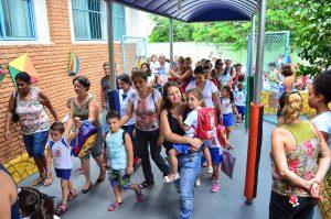 Aula inaugural abre o ano letivo em escolas municipais de Rio Claro