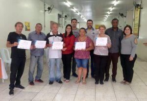 Fundo Social entrega certificados para  formandos do curso de Informática