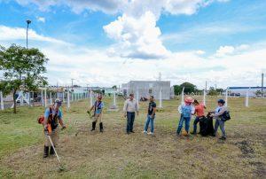 Limpeza prioriza unidades de saúde e escolas