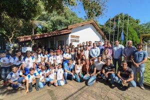Escolas podem agendar atividades  na Sala Verde do lago Azul