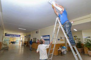 Prefeitura amplia iluminação no velório municipal de RC