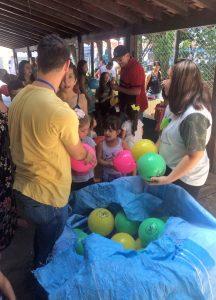 Brincadeiras Ambientais na Sala Verde do Lago Azul arrecadam 40k de recicláveis