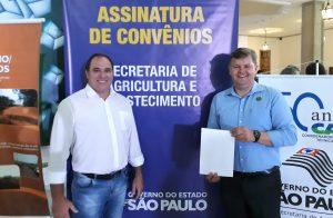 Prefeitura e Casa da Agricultura  de Rio Claro renovam convênio
