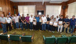 Conselheiros municipais de Economia Solidária de Rio Claro tomam posse